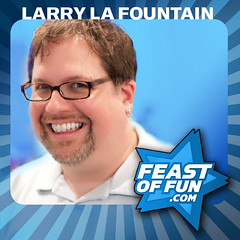 Larry La Fountain on the Feast of Fun podcast