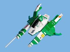VV Stratos (Fredoichi) Tags: lego space rally spaceship racer fredoichi