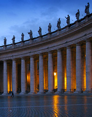 The Clash of Darkness and Light (Storm Crypt) Tags: morning italy pope vatican rome roma building church wall architecture facade buildings concrete lights construction europa europe italia structure cobblestones vaticano apostolicpalace scuplture dome catholicchurch christianity bluehour stpeterssquare pillars avignon stpeter stpetersbasilica vaticancity papacy holysee romancatholicchurch stpietro cittàdelvaticano eternalcity cittadelvaticano basilicastpietro stateofthevaticancity lateranpalace vaticanos caelianhill sanctasedes vaticanmount leoiv soverigncitystate lateranpacts statedellacittadelvaticano