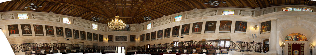 Guernica Assembly Hall Panorama