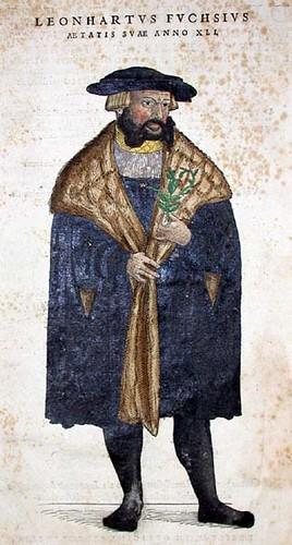 Frontispiece portrait of the author, Fuchs