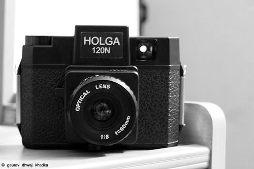 Holga 120N by Gaurav Dhwaj Khadka