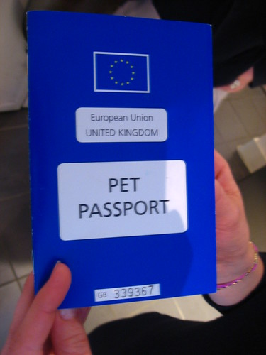 Pet passport