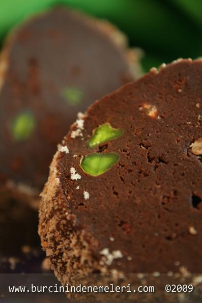 Chocolate Salami Y