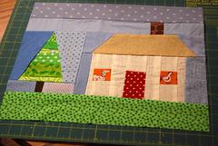 First House Quilt Block