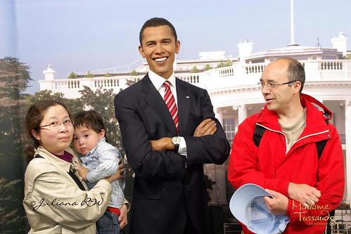 With Barack Obama