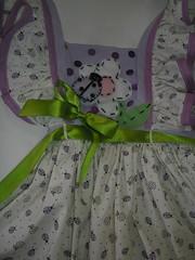 Vestido Junino (Adri Comelli) Tags: flor santos feltro boneca patchwork festa cenrio decorao junina vestido caipira roupa espantalho bandeirinhas colete