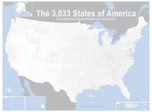The 3,033 States of America