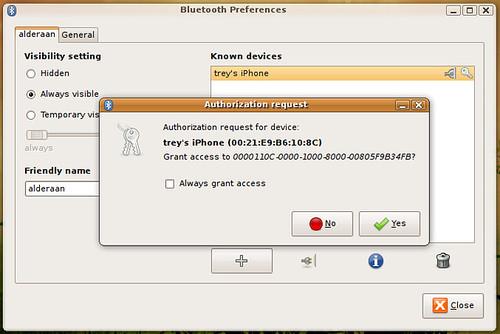 Ubuntu 9.04 + iPhone 3G tethering