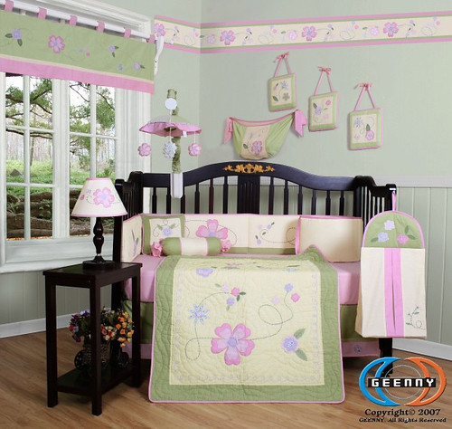 lauren garden girl bedding
