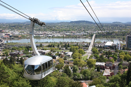 View from the Portland Aerial Tram