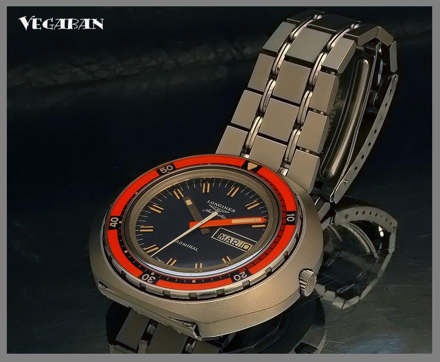 Longines - Longines Admiral diver vintage...( Pics ) 3651991492_7b57751c92_o