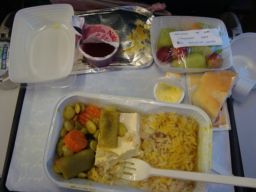 Vegetarian Airplane Food