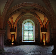 In the Abbey of Fontenay (pe_ha45) Tags: abbey fontenay abbaye godlight abtei superaplus aplusphoto platinumheartaward