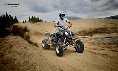 Outlaw 525 (stephenmdensmore) Tags: summer sports fun track terrace quad racing polaris