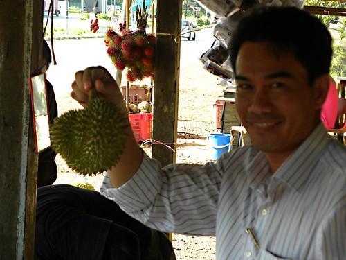 Ni haa...durian.....