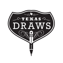 Texas Draws Logo Final (Howdy, I'm H. Michael Karshis) Tags: sanantonio texas hmk karshis southwestschoolofartcraft texasdraws