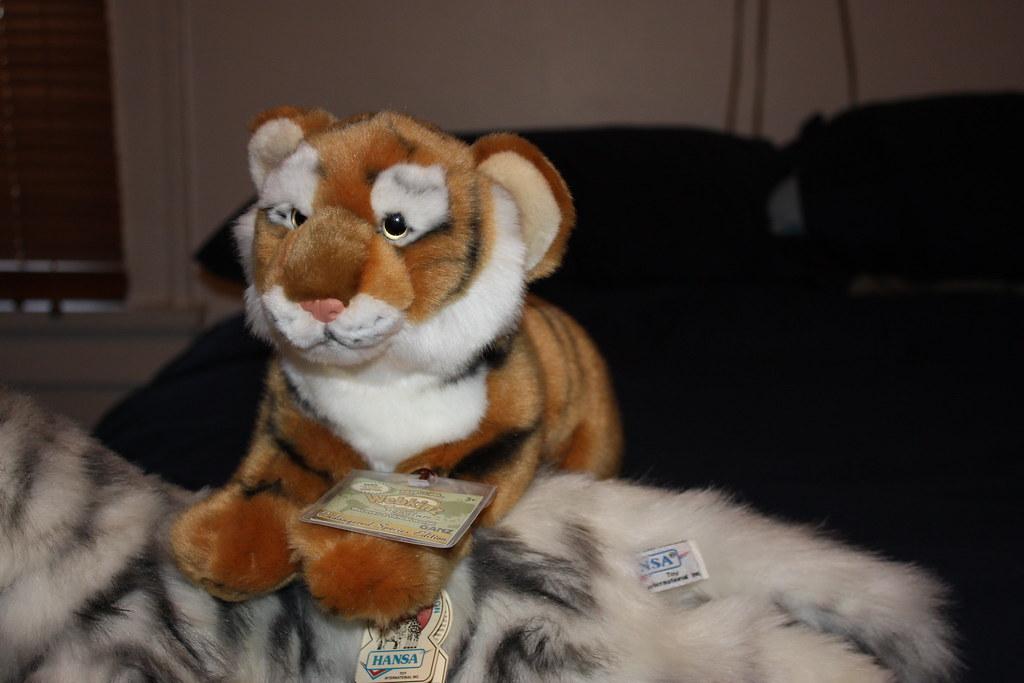 Webkinz Signature Endangered Bengal Tiger - March 2010