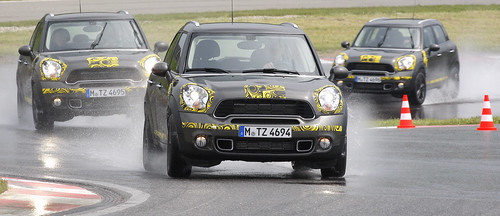 MINI Countryman Cooper S barely camouflaged