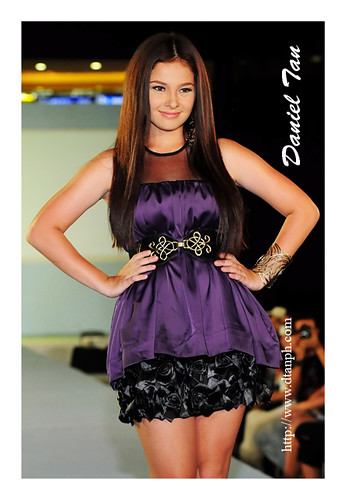 ANDI EIGENMANN WEARING dress with floral ruffles from The Ramp 2,650