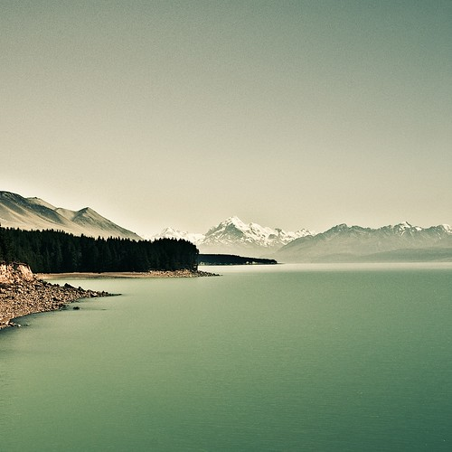 Cuba Gallery: Winter / lake / nature / landscape / mountains / trees / hills / water / beach / photography / New Zealand