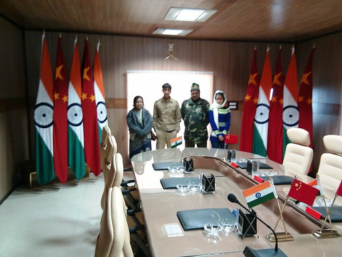 The Indo-China Conference hall (Indian side, BSF maintained)
