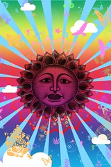 peace (Frances Lane) Tags: life sun moon man tree green photoshop blessings star design graphics pattern magick hand graphic god witch path buddha buddhist magic goddess buddhism fairy pentagram fractal fairies om ankh hindu hinduism ebook wicca pentacle witchcraft jain astrology fatima pagan spells wiccan eightfold swaztika