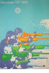 1972 Munich Olympics Poster