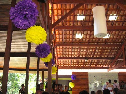 pompom decoração de festa 496