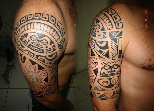 tatuajes de iniciales. tatuajes maories. Amery's Blog: tatuajes de letra chinas - foto tatuaje