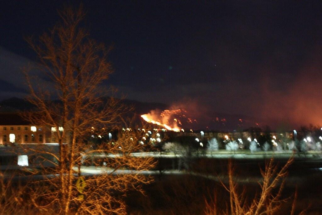 Boulder Wildfire 2009
