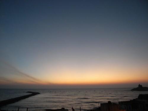 Sunrise, kanyakumari/cape comorin.日の出