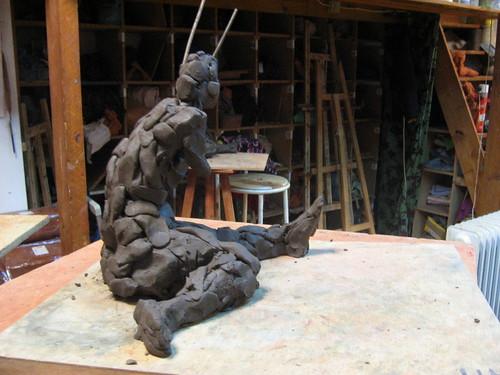 Sculptures - Atelier Saint Fargeau - 2008