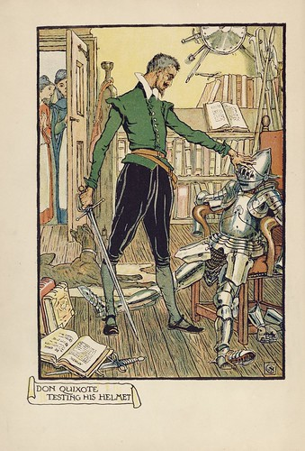 019-Don Quixote of the Mancha de 1909 -Walter Crane