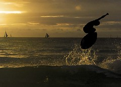 Catching Air (paulbarroga) Tags: beaches boracay skimboarding multimegashot 5abovestream