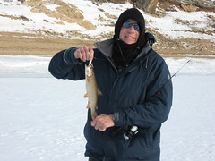 Dave (fethers1) Tags: icefishing laketrout lakegranby