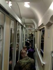 InterCity überfüllt