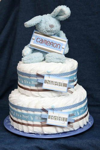 Diaper/Nappy cake