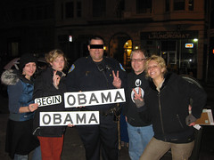 Obama and SFPD (timmmip) Tags: sanfrancisco streetsign police streetsigns peacesign obama sfpd timmmii obamastreetsign