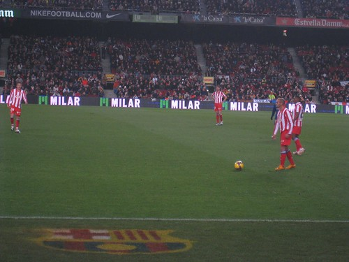 Madrid free kick