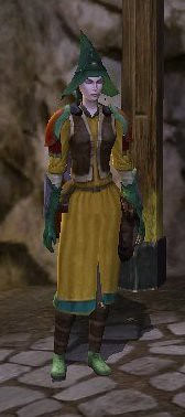 elvish runekeeper with a stupid hat