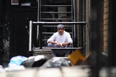 A whole life... (quicksilv3r) Tags: people london chinatown sitting dragon chinesenewyear quicksilver newyear ox sit seated londra   mercur1u5