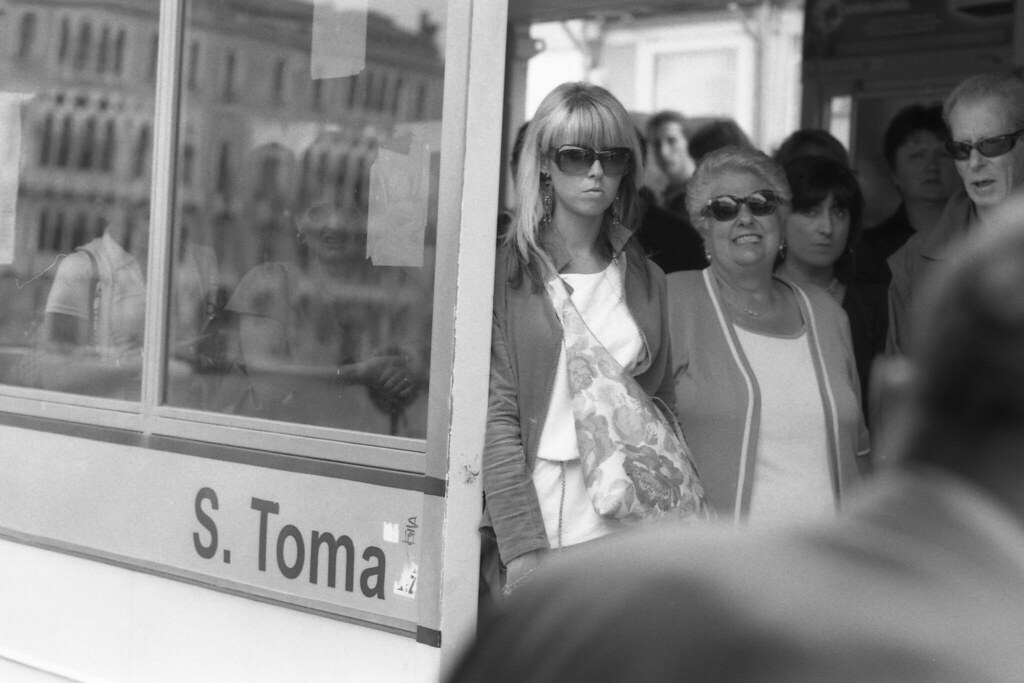 Waiting for Water Taxi, S. Toma Station, Venice