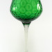 Emerald Green Vintage Art Glass