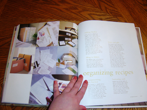 Good Things - Organizing Recipes