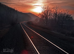 tracks at river road (jaki good miller) Tags: railroad winter sunset ohio train interestingness tracks explore exploreinterestingness jakigood pikecountyohio pikecounty hdr waverly railroadtracks top500 explorepage explored overtheexcellence ohiofoothills