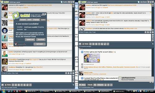 Twhirl desktop