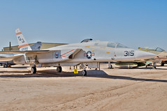 north american ra-5c vigilante (Matt Ottosen) Tags: arizona museum airplane nikon raw tucson space aviation air north pima american single a5 hdr vigilante northamerican d90 pimaairspacemuseum photomatix singleraw upcoming:event=1420165