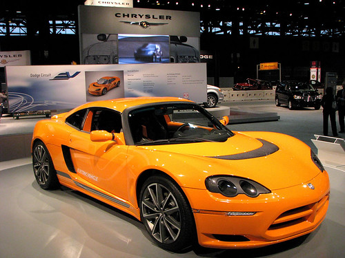 Chicago Auto Show 2009 – Dodge Circuit Electric Vehicle (Pictures)
