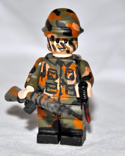 painted BDU custom minifig soldier